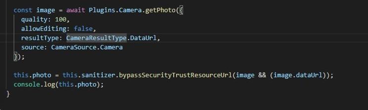 code utilisation appareil photo comme scanner